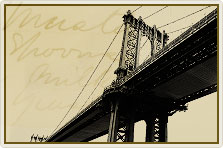 vintage phot of bronx bridge